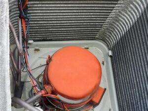 compressor-inside-condenser-unit
